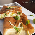 CREPES Courgettes Coulommiers