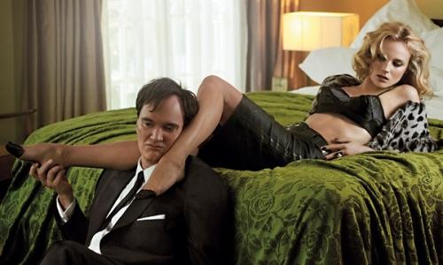 Quentin Tarantino et Diane Kruger