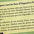 le journal de Mr Darcy D'Amanda Grange