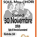 CONCERT GOSPEL SOUL <b>MASS</b> CHOIR