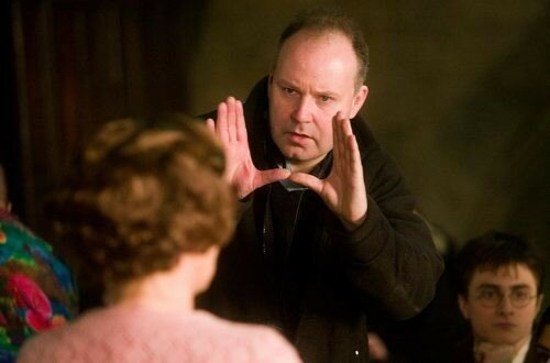 David Yates sur le tournage de Harry Potter 5