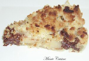 recettes dessert  Un petit crumble pour le goter, a vous dit?