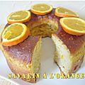 Savarin à l'<b>orange</b>