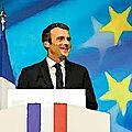Emmanuel <b>Macron</b> à la Sorbonne : l'Europe, l'Europe, l'Europe !