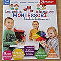 Les Petits Montessori à la maison magazine