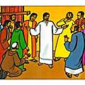 <b>Évangile</b> et Homélie du Ma 12 Sept 2017. Jesus passa toute la nuit à prier Dieu dans la montagne puis choisit les douze