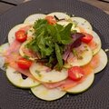 Carpaccio saumon- pomme <b>granny</b> smith