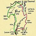 Traversée de la Grande Sûre 1921 m du Pont de Chorolant