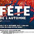 Atelier <b>Origami</b> (petit Atelier <b>Origami</b>) / 7 et 8 - Octobre 2017 - 6 ème édition de la FETE DE L'AUTOMNE