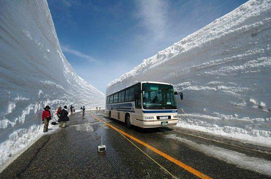 De neige exceptionnelles dans le nord du japon 2m40 en 72 heures