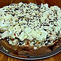 Un gâteau de <b>glace</b> version omelette norvégienne !