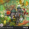 Kit Autumn in Broceliande en boutique et <b>freebie</b>