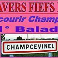 11° <b>BALADE</b> A CHAMPCEVINEL