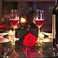 Un dîner plus que romantique