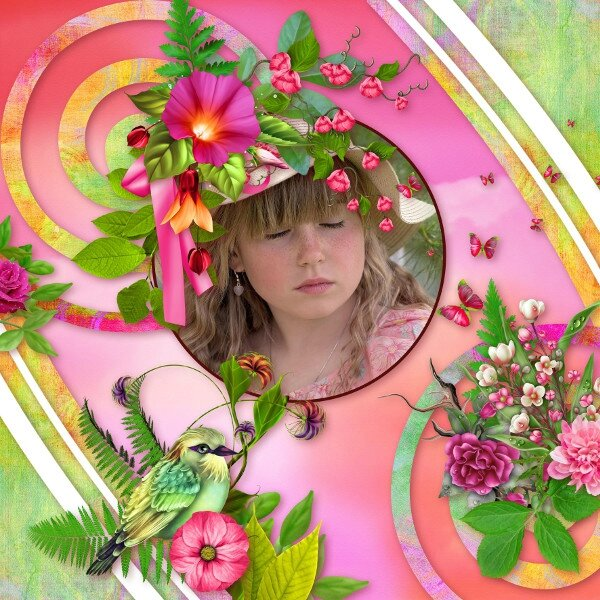 kit Ras L'Bonbon_Collab Josy Desclics - Template_Pack5 de Flomelle- photo Pixabay