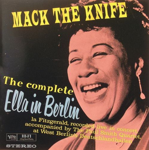 Ella Fitzgerald - 1960 - Make the knife, The complete Ella in Berlin (Verve)
