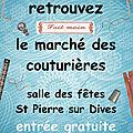 Marché des Couturières à ST PIERRE SUR <b>DIVES</b> (14)