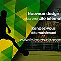 FOOTBALL CLUB BORDS DE SAONE