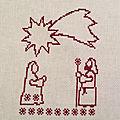 Christmas <b>SAL</b> (étape 3)