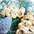 caterpilar bread