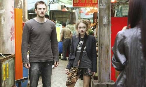 Chris Evans et Dakota Fanning