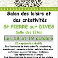 Salon des loisirs créatifs de <b>Saint</b> <b>Pierre</b> sur Dives