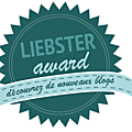 LIEBSTER <b>AWARD</b>