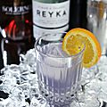 Le <b>cocktail</b> du jour: The Midnight Sun Featuring Reyka Vodka