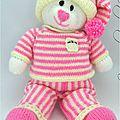 Traduction Bed Time <b>Bear</b> - Ourson en pyjama