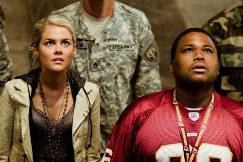 RACHAEL TAYLOR & ANTHONY ANDERSON