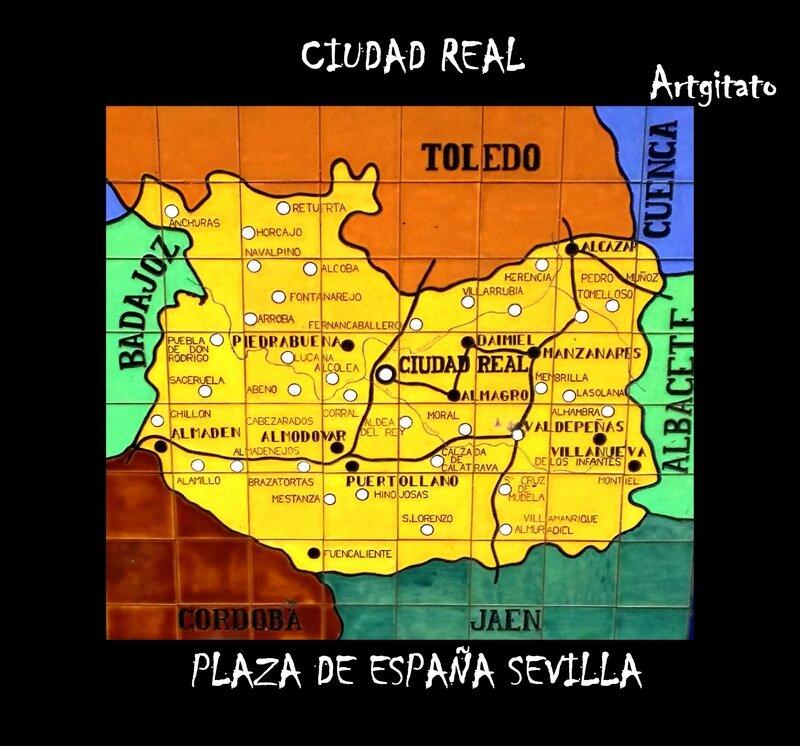 Ciudad Real Artgitato Carte