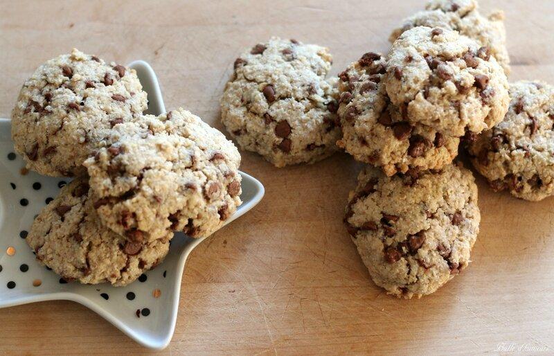 #6 cookies au son d'avoine