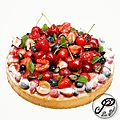 La tarte aux fruits rouges!