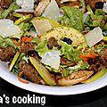 Escapade en cuisine de juin - Salade de poulet à la pomme