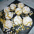 Amaretti au Citron ( Macaron Italien)