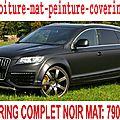 Audi Q7 <b>noir</b> <b>mat</b>, Audi Q7 <b>noir</b> <b>mat</b> , Audi Q7 <b>covering</b> <b>noir</b> <b>mat</b>, Audi Q7 peinture <b>noir</b> <b>mat</b>, Audi Q7 <b>noir</b> <b>mat</b>