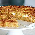 Szarlotka - <b>Gâteau</b> polonais aux pommes
