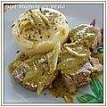 Filet mignon au <b>pesto</b>