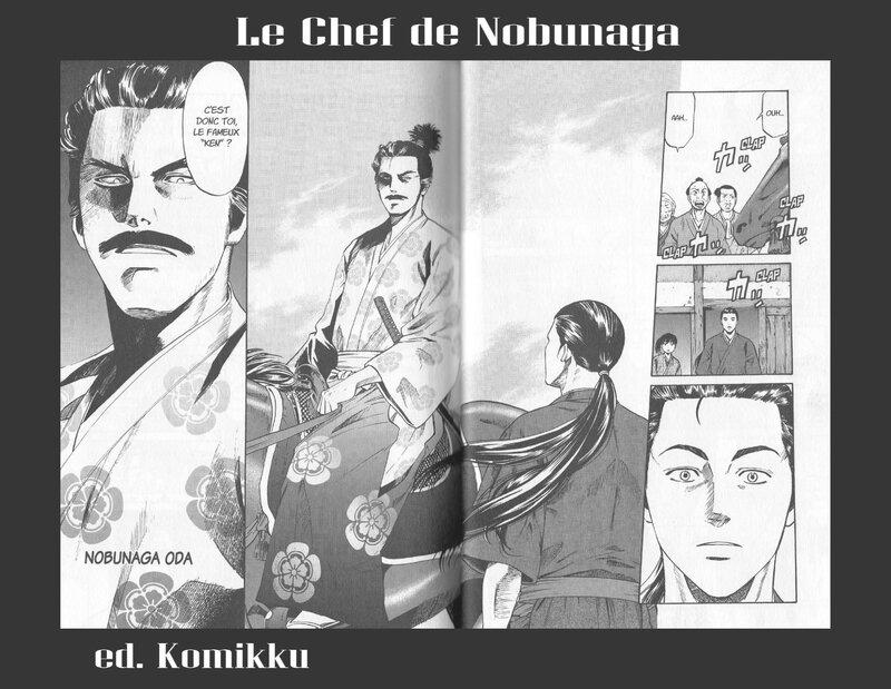 Le chef de Nobunaga Sc Nishimura Dessin Kajikawa Ed Komikku Ed 2014 v5
