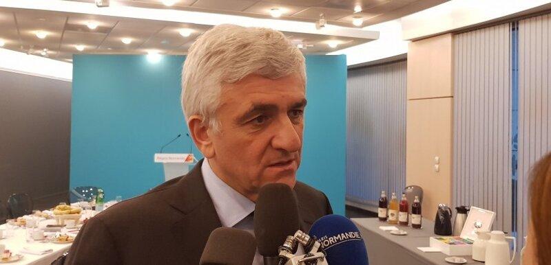 Voeux d'Hervé MORIN à la presse régionale: nos espérances tout comme nos inquiétudes normandes sont confirmées…
