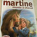 Cu426 : Album Martine monta à cheval