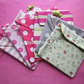 des pochettes hautes en <b>couleur</b>