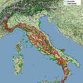 Estimation de la population de loups en <b>Italie</b> - 2014 -