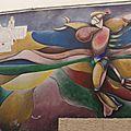 D'une crique à l'autre en passant par la montagne, au village aux façades peintes de Orgosolo