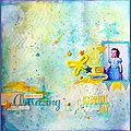 Mixed Media <b>Class</b> # 1 - Amazing ... Carnival Day