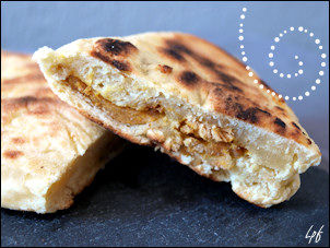 naan poulet curry