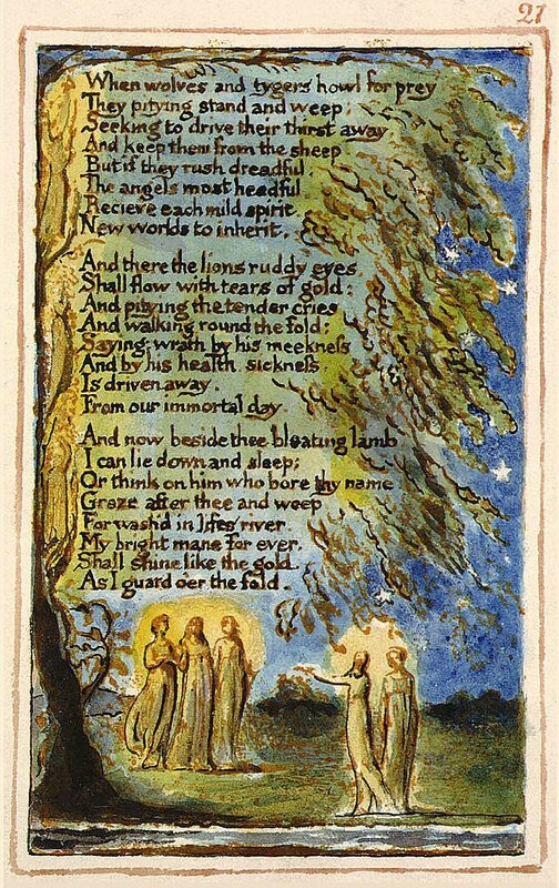 Night William Blake 2 Nuit