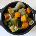 Le panaché de légumes rotis au four