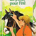 Un poney pour l'<b>été</b>, de Jean Slaughter Doty
