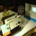 PROJECTEUR ZEISS IKON BIFORMAT 8mm:SUPER 8+BOBINE+FILM@